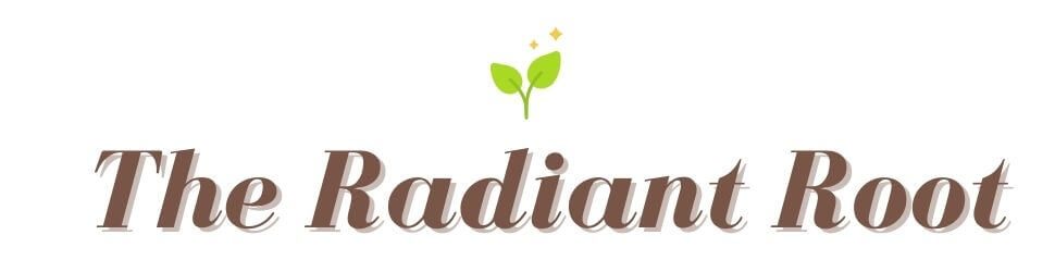 """Radiant Root Logo Says """"The Radiant Root"""" 